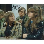 Please Sir Barry Cleal Spencer authentic signed autograph colour photo 2