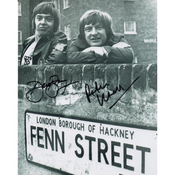 Please Sir cast signed autograph photo 2 David Barry Peter Cleal
