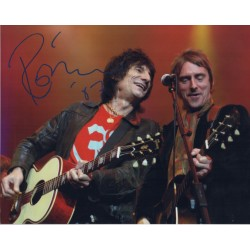 Rolling Stones Ronnie Wood signed colour photo 2