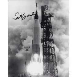 Scott Carpenter Mercury astronaut signed autograph authentic photo