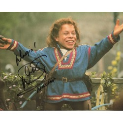 Warwick Davis Willow genuine authentic autograph signed photo