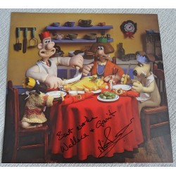 Nick Park Wallace and Gromit authentic genuine signed image COA UACC 3
