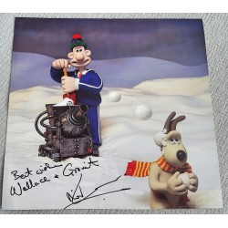 Nick Park Wallace and Gromit authentic genuine signed image COA UACC 5