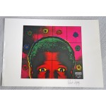 Gilbert and George artists SEEN authentic genuine signed image COA UACC AFTAL