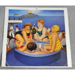 Beryl Cook Cruising artist authentic genuine signed image COA UACC AFTAL 2