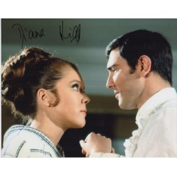 Diana Rigg James Bond genuine signed autograph photo COA 4