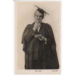 Will Hay comedy genuine signed authentic signature photo COA UACC