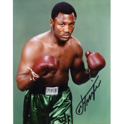 Joe Frazier Boxing genuine signed authentic signature photo COA