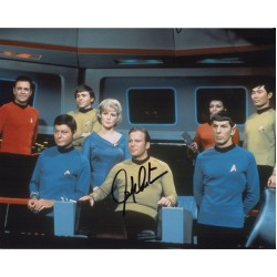 William Shatner Star Trek authentic genuine signed photo COA AFTAL UACC