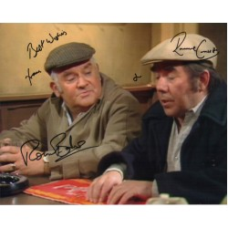 Ronnie Barker Corbett Two Ronnies authentic genuine signed photo COA UACC