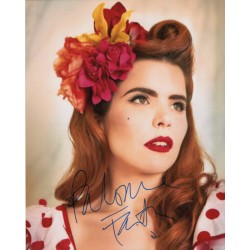 Paloma Faith authentic genuine signed image COA UACC AFTAL