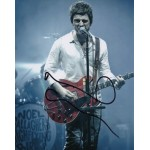 Noel Gallagher Oasis authentic genuine signed image COA UACC AFTAL