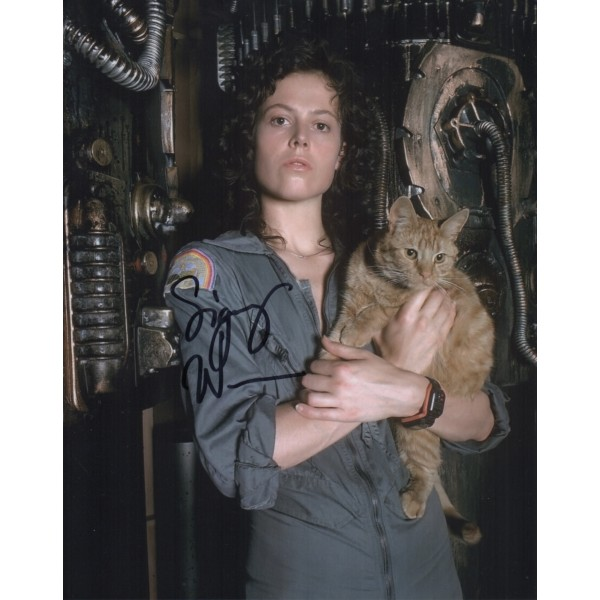 Sigourney Weaver Alien authentic genuine signed image COA UACC RACC