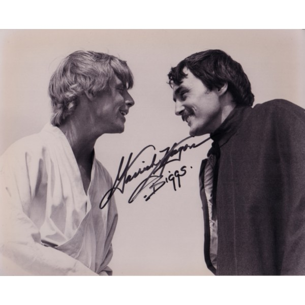 Garrick Hagon Star Wars genuine authentic signed autograph photo