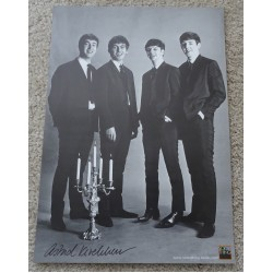Astrid Kirschherr Beatles genuine authentic autograph signed photo