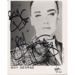 Boy George Music authentic genuine signed photo COA UACC