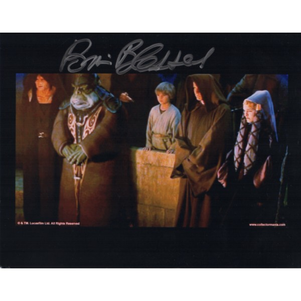 Brian Blessed genuine signed autograph Star Wars photo