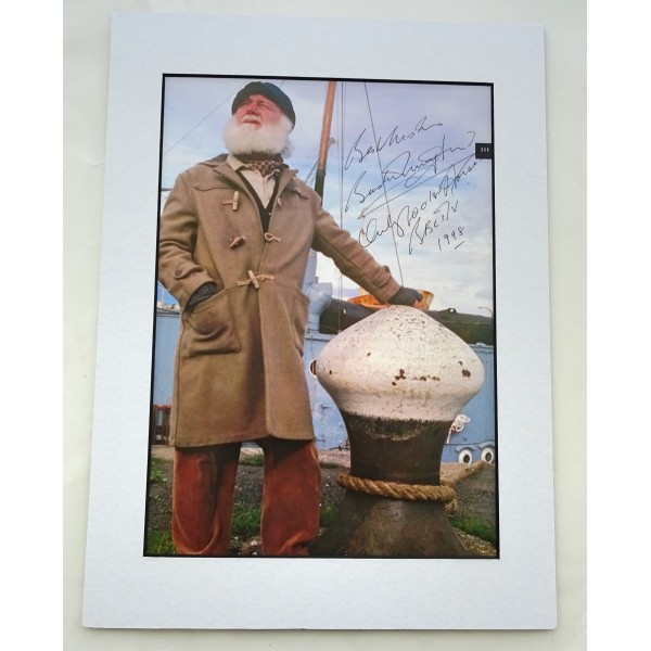 Buster Merryfield Only Fools Horses signed autograph image COA UACC AFTAL