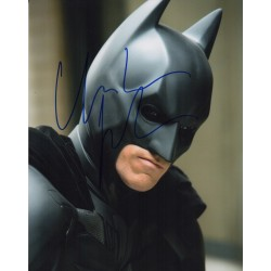 Christian Bale Batman genuine signed authentic signature photo UACC AFTAL