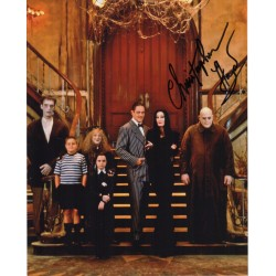 Christopher Lloyd Adams Family authentic genuine signed photo COA UACC