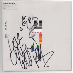 Coldplay Chris Martin signed + sketch authentic genuine signed photo COA
