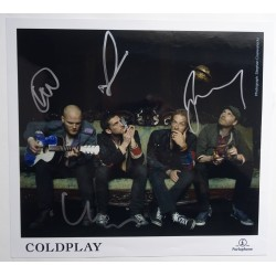 Coldplay Chris Martin Will Champion music genuine autograph signed photo