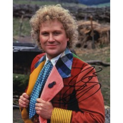 Colin Baker Doctor Who authentic genuine signed photo COA AFTAL 4