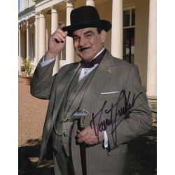 David Suchet Poirot genuine authentic autograph signed photo RACC