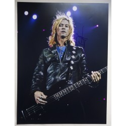 Duff McKagan Guns N Roses genuine authentic autograph signed photo