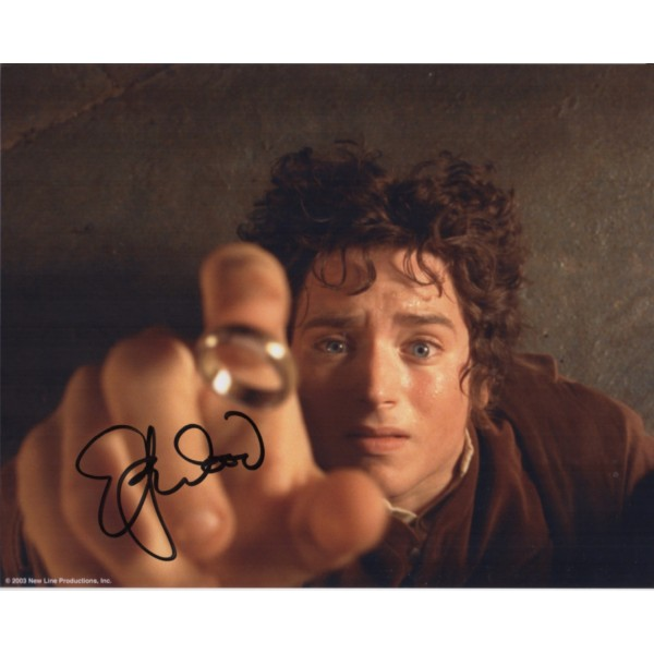 Elija WoodLord of the Rings genuine signed autograph photo