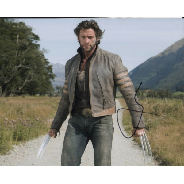 Hugh Jackman Wolverine authentic genuine signed photo COA AFTAL 4