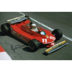 Jody Scheckter Ferrari F1 genuine authentic autograph signed photo 6.