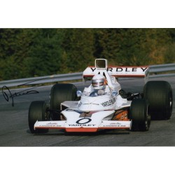 Jody Scheckter Yardley BRM F1genuine signed authentic signature photo