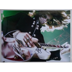 Joe Perry Aerosmith music genuine authentic autograph signed photo