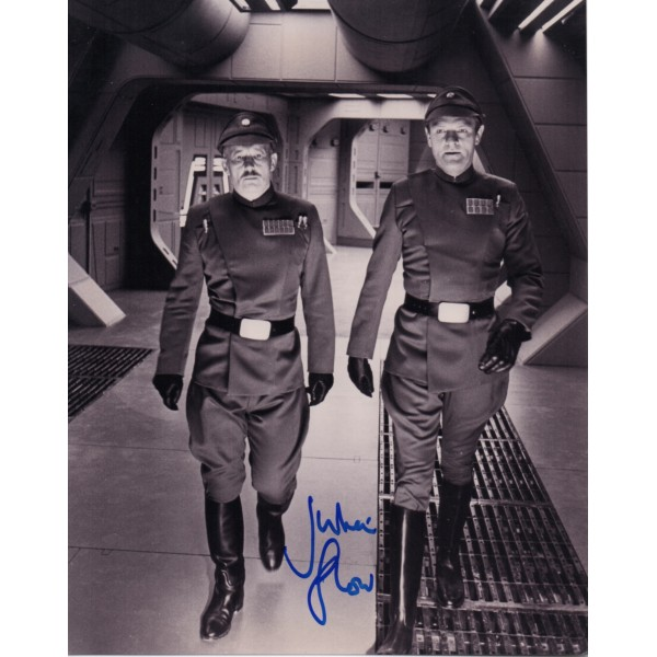 Julian Glover Star wars genuine signed authentic signature photo