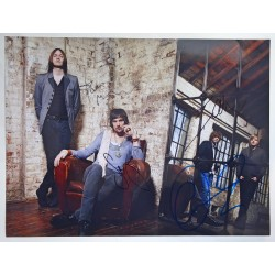 Kasabian genuine authentic autograph large signed photo