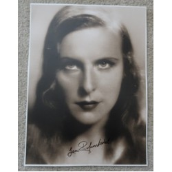 Leni Riefenstahl Adolf Hitler genuine authentic autograph signed photo