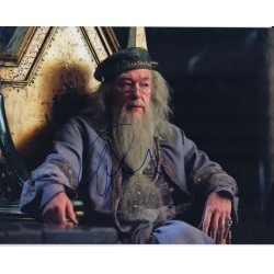 Michael Gambon Harry Potter genuine authentic signed autograph photo