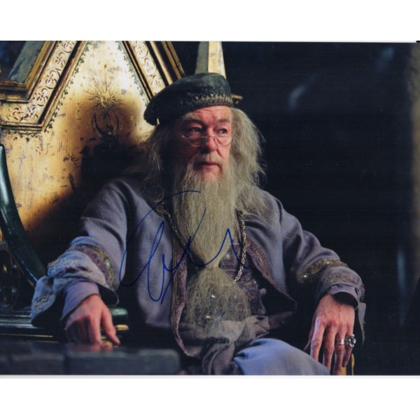 Michael Gambon Lord Rings genuine authentic signed autograph photo