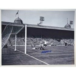 Nat Lofthouse Bolton Wanderers genuine authentic autograph signed photo