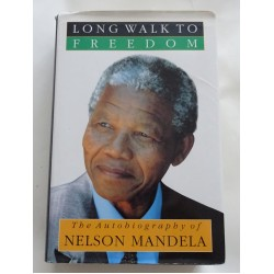 Nelson Mandela Long Walk To Freedom genuine signed book UACC AFTAL