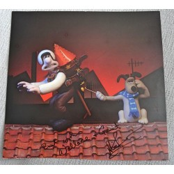 Nick Park Wallace and Gromit authentic genuine signed image COA UACC 2