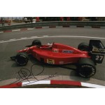 Nigel Mansell F1 Ferrari Red 5  authentic genuine signed photo COA AFTAL