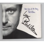 Phil Collins CD Both Sides + letter authentic genuine signed CD COA
