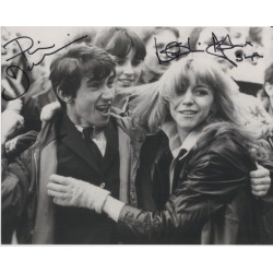 Phil Daniels Leslie Ash Quadrophenia genuine authentic signed photo