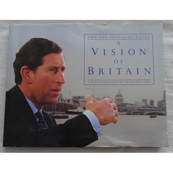 Prince Charles Visions of Britain genuine signature autograph book