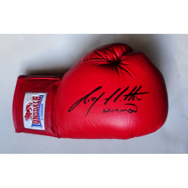 Ricky Hatton boxing genuine authentic signed autograph glove