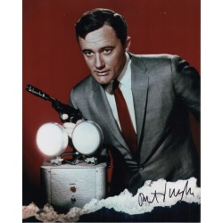 Robert Vaughn Man From Uncle authentic genuine signed photo COA AFTAL 4