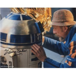 Star Wars Kenny Baker signed original genuine autograph authentic photo