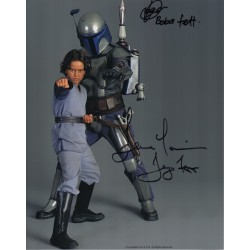 Star Wars Temuera Morrisson Logan authentic signed autographs genuine photo